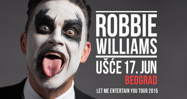 Помалку од еден месец до големиот концерт на Роби Вилијамс во Белград