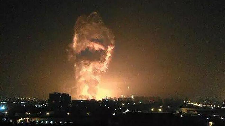 Нова силна експлозија во кинеското пристаниште Тјанцин