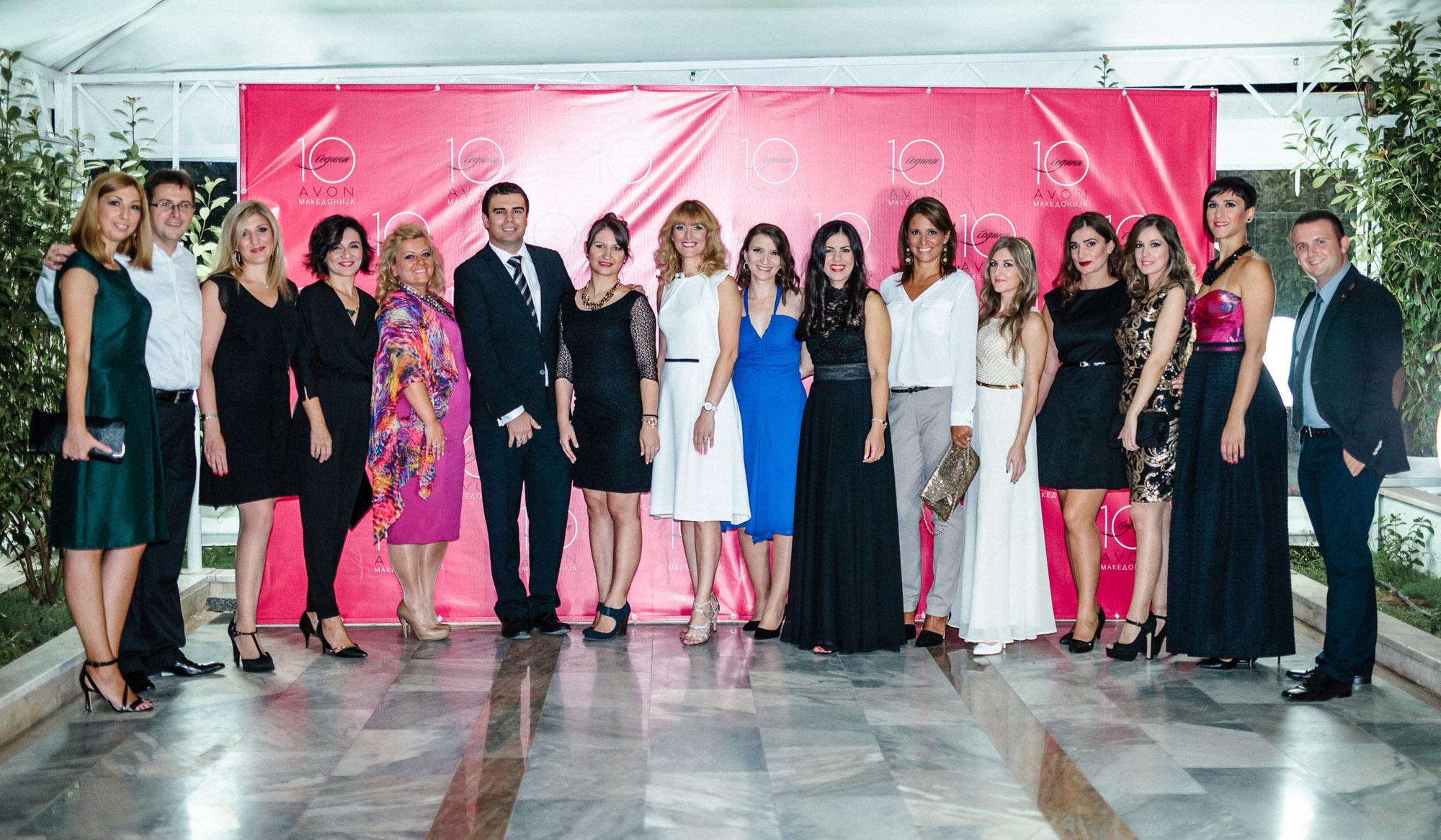Авон Македонија прослави 10 години постоење на македонскиот пазар