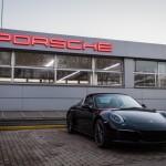 """ФОТО: Новиот Porsche Targa 4S пристигна во салонот на """"Порше Македонија"""""""