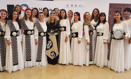 """Три златни медали за """"Св. Злата Мегленска"""" на Светските хорски игри во Сочи"""