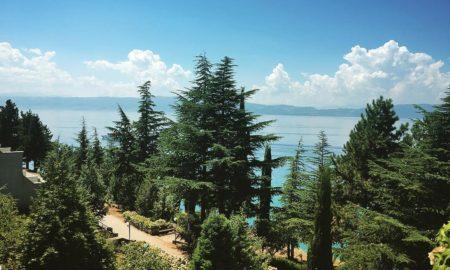 Ники Ромеро се разбуди со поглед кон Охридското Езеро
