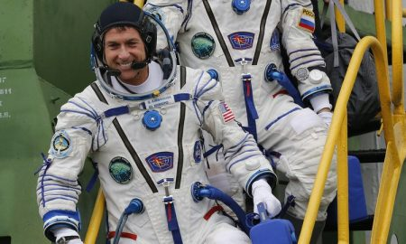 Астронаутот Шејн Кимбро гласаше од Вселената