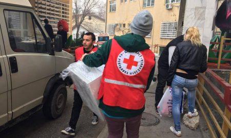 Празнични активности на волонтерите на Црвен крст Центар (ФОТОГАЛЕРИЈА)