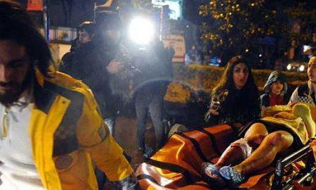 Во вооружен напад во ноќен клуб во Истанбул загинаа 39 лица, а 69 се ранети