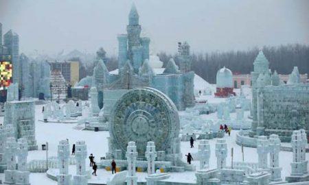 Почна фестивалот на скулптури од мраз во Кина