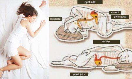 Зошто е подобро да се спие свртен на левата страна?