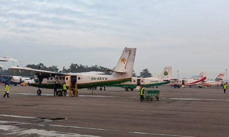 Леопард блокира меѓународен аеродром