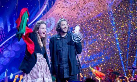 """Искрениот настап и тажната приказна ѝ ја донесоа првата победа на Португалија на """"Евровизија"""" (ФОТО)"""
