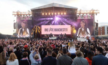 ЕДНА ЉУБОВ ВО МАНЧЕСТЕР: Аријана одржа емотивен концерт со помош на своите колеги (ФОТО)