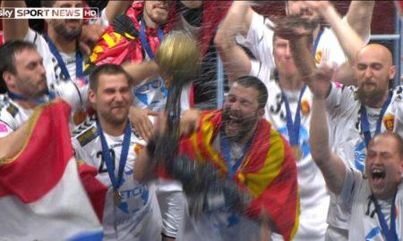 МАКЕДОНИЈА СЕ РАДУВА: Вардар е новиот европски ракометен шампион (ФОТО)