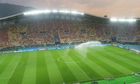 Се одбројуваат минути до стартот на Суперкуп - Телеком арената се полни (ФОТО)