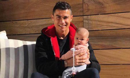 """Малата ќеркичка на Роналдо """"собра"""" 5 милиони """"лајкови"""" на Инстаграм"""