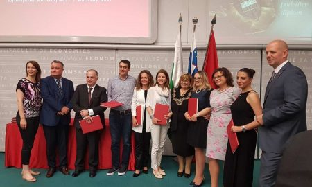 Можност за совладување на предизвиците на глобалната  и динамична бизнис средина со посебни меѓународни постдипломски студии на Економски факултет – Љубљана во Скопје