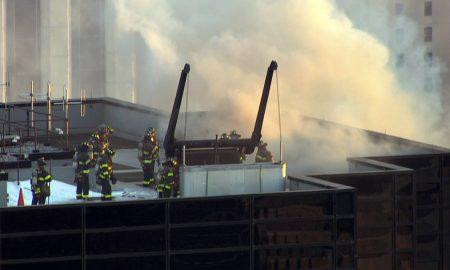 Две лица повредени при пожарот во Кулата Трамп во Њујорк (ВИДЕО)