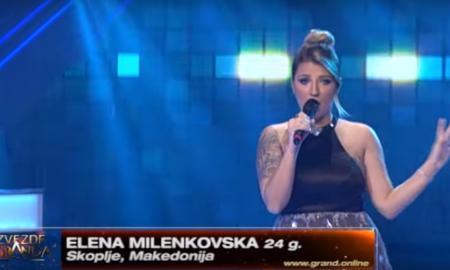 """Дали нашата поп пејачка Елена Миленковска е новата финалистка во """"Звездите на Гранд""""? (ВИДЕО)"""