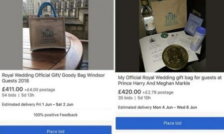 """На """"Ибеј"""" се продаваат подароци од кралската свадба"""