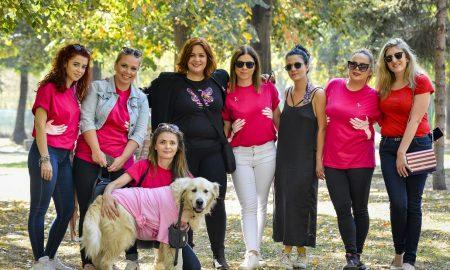 Борка и Авон испратија порака : Ракот на дојка не е розов, но овој ден ние го боиме во розово за да покажеме дека нема да му се предадеме
